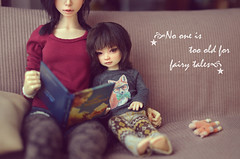 No one is too old for fairy tales (nest_for_dreams) Tags: nana suzume  elfdoll euna souldoll iplehouse byuri bjd