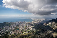 Cloudy Over Table Mountain (Neal_T) Tags: 12mm africa beach coast fuji fujifilm landscape samyang southafrica ultrawideangle wideangle xt10 tablemountain capetown westerncape za