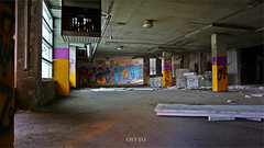 underground Parking (OsytoPhoto Louis Mitch) Tags: sonygang sonyalpha6k exposures long hdr inside natur dark 1650mm osytophoto ue parking basement underground urbex decay urbandecay abandonned montreal canada quebec graffiti