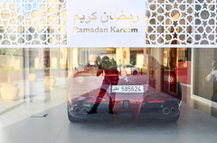 The Pearl-Qatar (jbdodane) Tags: thepearl thepearlqatar car doha ferrari middleeast qatar shop ramadan
