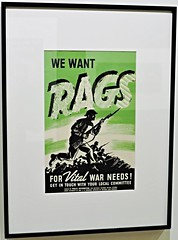We want rags (Will S.) Tags: mypics museum archives peelcountyjail brampton ontario canada oldbuildings oldarchitecture peelcounty heritage history peelregion poster wwii peelartgallerymuseumarchives old peelcountycourthouse peelcountyregistry countyregistry countyjail countycourthouse peel