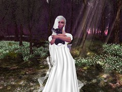 Serenity_002 (leynelk) Tags: princess serenity sailor moon second life blog sl purple luna dawn dusk earth pearls mesh gown cosplay