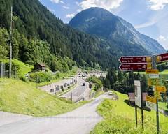 Autobahn A2 (Motorway E35),  Meitschligen-Gurtnellen, Uri, Switzerland (jag9889) Tags: jag9889 2016 motorway road a2 autobahn flickr centralswitzerland switzerland outdoor 20160811 gurtnellen europe uri mountain alpine ch cantonofuri helvetia innerschweiz kantonuri motorhighway schweiz suisse suiza suizra svizzera swiss zentralschweiz