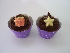 Cupcakes e Mini Bolos (A Magia do Sabor) Tags: cupcakes muffin bolinho minibolos cupcakenatal