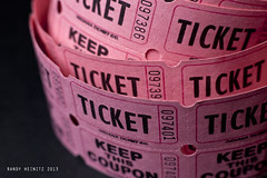 Raffle [Explored] (It's So Sunny!) Tags: pink macro tickets 50mm explore lucky dailyphoto raffletickets canonphotography 8365 canonef50mm118ii canon5dmarkii randyheinitz