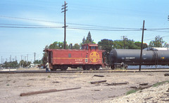 Found Railroad Slide (jeffs4653) Tags: railroad santafe film 35mm slide caboose foundphoto atsf