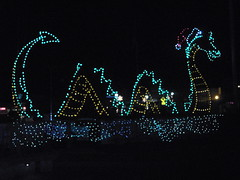 Long Beach Sea Serpent 30 Dec 2012 (purplewon2000) Tags: christmas lights washington longbeach wa seaserpent pacificcounty experiencewa purplewon2000 allrightsreservedcopyright
