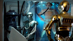 "Echo Base diorama - C3PO outside medical room in Echo Base on Hoth • <a style=""font-size:0.8em;"" href=""http://www.flickr.com/photos/86825788@N06/8361363477/"" target=""_blank"">View on Flickr</a>"