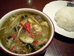 Thai green curry From Shiya Tomyam @ Ueno (Fuyuhiko) Tags: hot green cuisine tokyo very ueno curry thai  spicy  shiya  tomyam   thail       flickrandroidapp:filter=none