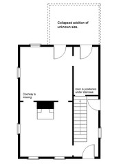 Floor Plan (Pythaglio) Tags: county ohio house abandoned floor farm union plan historic hopkins irwin township