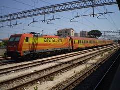 Arenaways (Napocesco) Tags: italy train treno arenaways