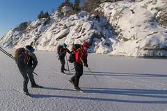 Lngs Kllviks klippor (David Thyberg) Tags: winter ice nature sweden skating skate sverige archipelago trosa skrgrd sdermanland lngfrdsskridsko