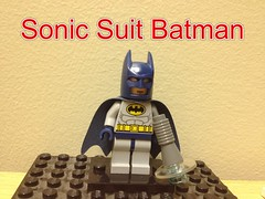 Custom lego Sonic Suit Batman (AntMan3001) Tags: dc lego sonic suit batman custom minifigure