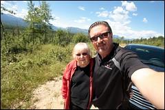 Scenic Detour Near Nordegg (greenthumb_38) Tags: canada reunion rockies canadian alberta 2012 canadianrockies jeffreybass august2012 moseankoreunion