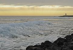Kruiend ijs - Stavoren (Pieter ( PPoot )) Tags: winter bevroren nederland friesland ijsselmeer stavoren ochtendlicht 2013 kruiendijs