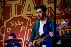 Yuna at Taylor Guitars (NAMM 2013) (Nazra Zahri) Tags: california usa losangeles nikon singer nikkor malaysian namm yuna 28200mm 28200mmf3556g 2013 d700 yunaliszarai