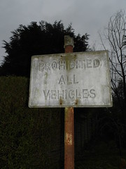 prohibited 2 (satguru) Tags: sign pre berkshire sunninghill worboys