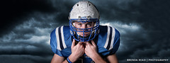 High School Football Portrait by: Brenda Read (Brenda Read Photography) Tags: portrait senior football houston headshot lakejackson bucs sportrait strobist brazoswood brazosport d300s highschoolseniorphotographer bucanners brendareadnikon hopperfield