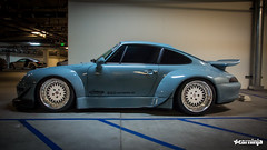 eGarage RWB Porsche 993 (carninja) Tags: california ca cars car porsche orangecounty oc rwb 993 hre hrewheels fatlace porsche993 egarage carninja