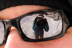 Self-portrait (*-ishtar-*) Tags: winter selfportrait photography glasses reflexion