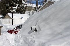 step by step (Sallyanne Morris) Tags: snow nemo blizzard2013