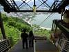Looking down on Fujikawaguchiko and Lake Kawaguchi