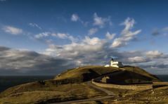 Stoer Head Lighthouse (Michael~Ashley) Tags: lighthouse clouds scotland highlands nikon head scottish minch stoer assynt d7000