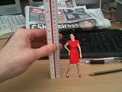 CAROL VORDERMAN SHRUNK (woman shrinker) Tags: woman sexy small tiny short carol sw shrinking shrunk vorderman tinywoman