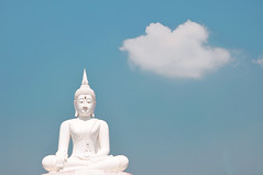Buddha, Nakhon Ratchasima, Thailand (kingdomany) Tags: travel color thailand nikon flickr thai d90