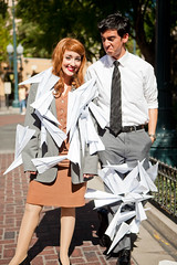 Paperman - 29 (crimsonyte) Tags: paper costume cosplay disney short pixar planes animation paperman wendybird disneyanimation misswendybird