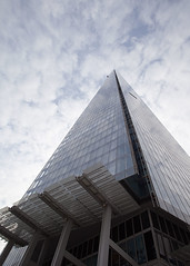 The Shard II... (Lady Haddon) Tags: copyright london architecture canon lookingup 20mm allrightsreserved tallbuilding londonarchitecture 2013 londonbuilding theshard kimhaddon kimhaddonphotography feb2013