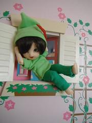 Peter Pan (Aronzilla) Tags: sewing peterpan bjd pongpong pukifee