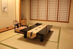 Tatami room at Taketoritei Ryokan (yukibana) Tags: japan kobe ryokan japaneseculture hyogo arimaonsen taketoritei