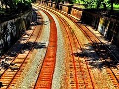 North Side Train Tracks - Pittsburgh, PA (JayCass84) Tags: park urban beautiful train awesome tracks urbanphotography instagram instagramapp