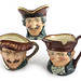 302. Three Large Royal Doulton Toby Mugs
