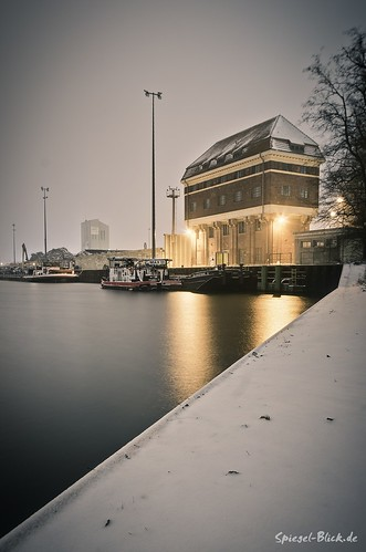 Winterly Westhafen