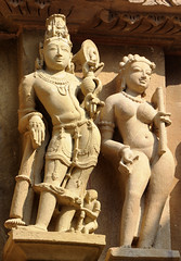 Khajuraho (nicnac1000) Tags: india temple vishnu indian unescoworldheritagesite unesco worldheritagesite mp hindu khajuraho madhyapradesh chattarpur lakshmana bundelkhand 10thcentury northindian chhatarpur 10thcenturyce chandela 10thcenturyad yashovarman 950ad 10century india2013 vaikunthavishnu