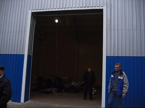 Выскоскоростные ворота Дружковка Украина. Efaflex.