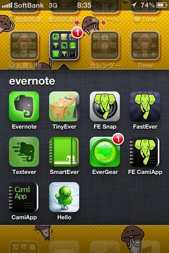 Evernote 関連アプリ