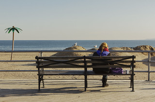 Chillin' | Coney Island Beach Off Season