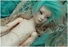 Resin Silk (Bluoxyde) Tags: boy art toy mod doll ooak bjd custom abjd narsha zihu