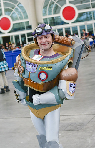 SDCC 2012: Steampunk Buzz Lightyear