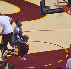 Kyrie Irving Layup (Erik Daniel Drost) Tags: ohio basketball point cleveland guard duke arena irving kyrie nba cavaliers cavs loans quicken quickenloansarena kyrieirving
