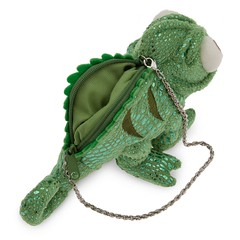 Pascal Plush Purse - US Disney Store Product Image #2 - Opened - Left Rear View (drj1828) Tags: us release plush purse pascal disneystore tangled 2013