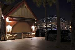 Portobello Caffe & Harbour Bridge (oxfordblues84) Tags: bridge night evening nightlights au sydney australia circularquay nsw newsouthwales sydneyharbour afterdark sydneyharbourbridge thecoathanger portobellocaffe
