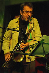 Tim Whitehead Quartet (2013) 01 - Tim Whitehead (KM's Live Music shots) Tags: greatbritain jazz saxophone tenorsax timwhitehead greatnorthernrailwaytavern jazzatthetavern