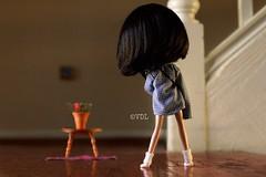 Risky Business ~ (voo_doolady) Tags: socks movie dolls guitar scene tomcruise blythe keenan electricguitar riskybusiness bobseger boyfriendshirt mariuka oldtimerockandroll guitarherostyle