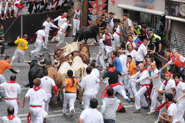 パンプローナ(スペイン)のお祭り:サン・フェルミン