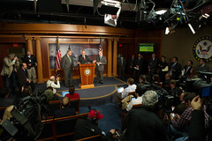 "Democratic Leadership Discuss the Ryan Budget • <a style=""font-size:0.8em;"" href=""http://www.flickr.com/photos/32619231@N02/8572500812/"" target=""_blank"">View on Flickr</a>"