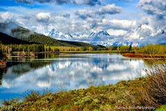 Plunge Boldly Into Life (Aspenbreeze) Tags: morning mist lake mountains fog clouds rural sunrise reflections am country wyoming tetons waterreflections grandtetonnationalpark oxbowbend bestcapturesaoi aspenbreeze photographyforrecreation moonandbackphotography bestevergoldenartists topphotospots creativephotocafe tpslandscape gpsetest bevzuerlein besteverdigitalphotography